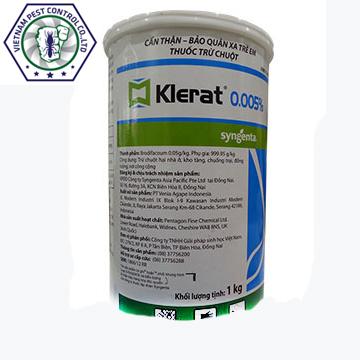 Thuốc diệt chuột Klerat - loại 1kg
