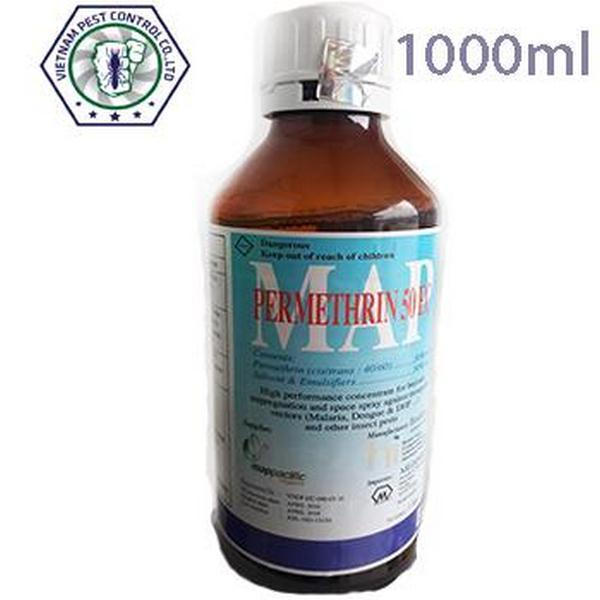 Thuốc diệt muỗi Permethrin 50EC 1000ml