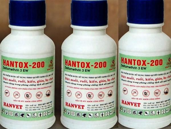 Thuốc Hantox – khắc tinh của mọi loại côn trùng