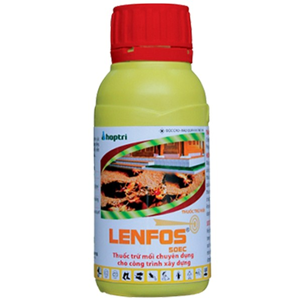 Thuốc chống mối Lenfos 50EC - Chai nhỏ loại - 100ml